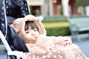 初詣 赤ちゃん